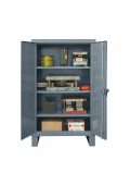 Durham Steel 12-Gauge Storage Cabinets, Assembled