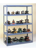 "Tennsco 84""H Heavy Duty Reinforced Shelving Unit"