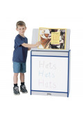 "Jonti-Craft Rainbow Accents 24"" W Write-n-Wipe Dry Erase Mobile Big Book Easel"