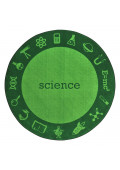 Joy Carpets STEM Classroom Rug, Science