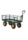 Vestil Retractable Sides Landscaping Cart