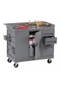 "Tennsco 48"" Wide Mobile Workbenches"
