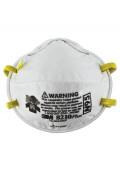 3M Particulate Respirator 8210 Plus, N95, 20-Pack