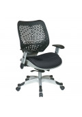 Office Star REVV Space Seating Plastic-Back Mesh Mid-Back Managers Chair