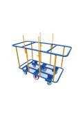 Vestil Steel Load Horizontal Panel Cart 2000 lb Load