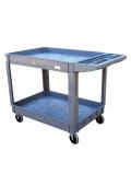 Vestil Plastic Utility Service Carts 550 lb Load
