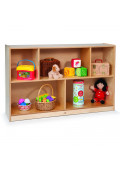 """Whitney Brothers 30"""" H 5-Section Storage Cabinet"""