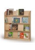 """Whitney Brothers 50"""" H Compact Library Bookshelf"""