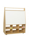 """Wood Designs Classroom Mobile Art Storage and Book Display, 44"""" H x 36"""" W x 15"""" D"""