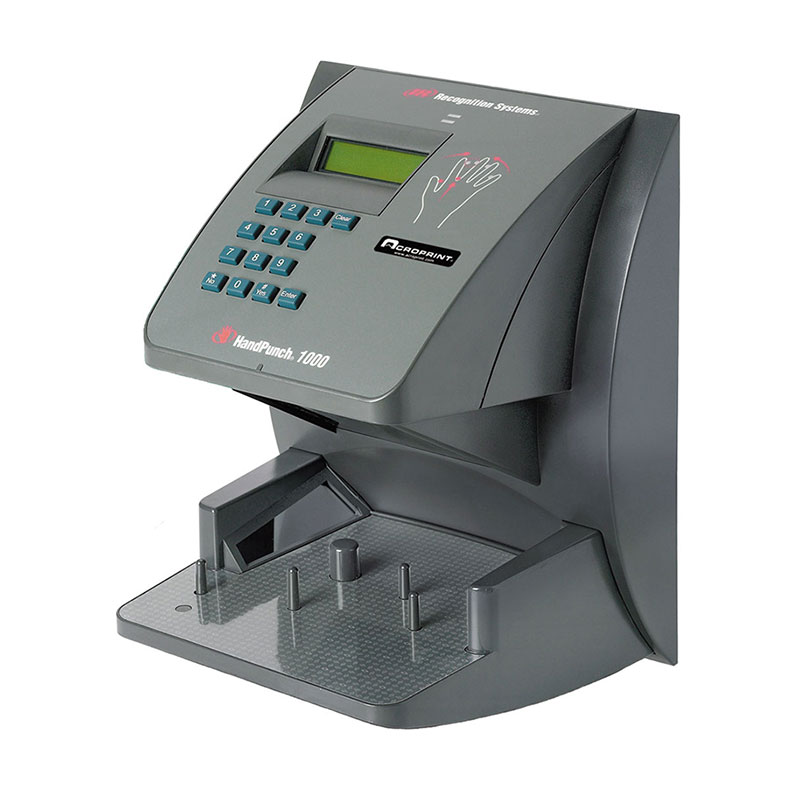 Acroprint Hp1000e Handpunch Biometric 100-employee Ethernet Terminal