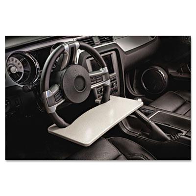 Autoexec Wheelmate Steering Wheel Attachable Work Surface Gray