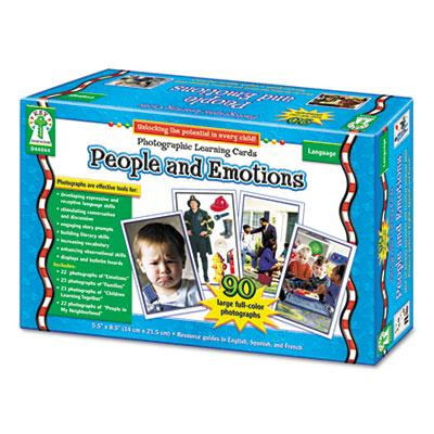 Carson-dellosa People & Emotions Grades K-12 Photographic Learning Cards Boxed Set