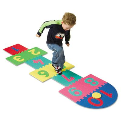 Creativity Street Wonderfoam Hop Scotch Puzzle Mat
