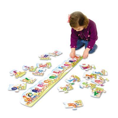 Creativity Street Alphabet Train Floor Puzzle  27 Pieces 95173