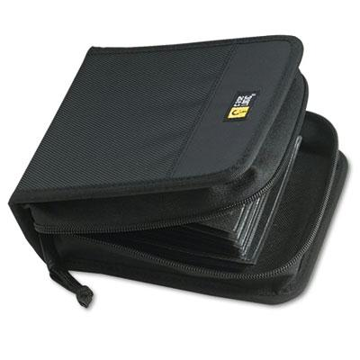 Case Logic 32-capacity Cd & Dvd Nylon Wallet Black