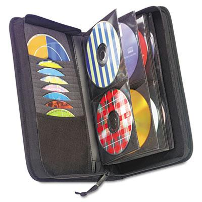 Case Logic 72-capacity Cd & Dvd Nylon Wallet Black