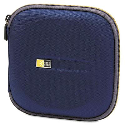 Case Logic 24-capacity Molded Cd Wallet Blue