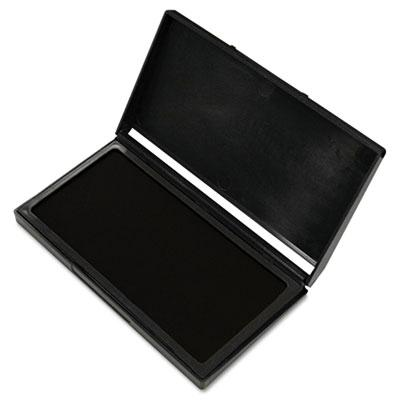 """Cosco Microgel Stamp Pad For 2000 Plus 2-3/4"""" X 4-1/4"""" Black Ink"""
