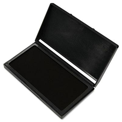 """Cosco Microgel Stamp Pad For 2000 Plus 3-1/8"""" X 6-1/6"""" Black Ink"""