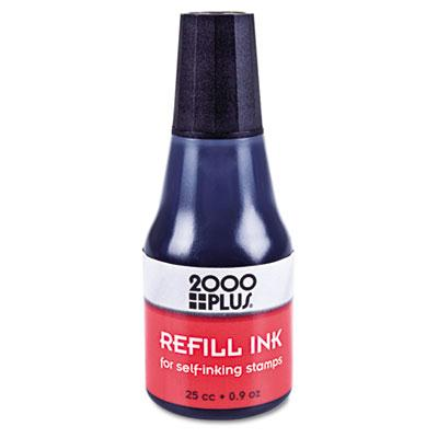 2000 Plus Self-inking Refill Ink .9 Oz Bottle Black