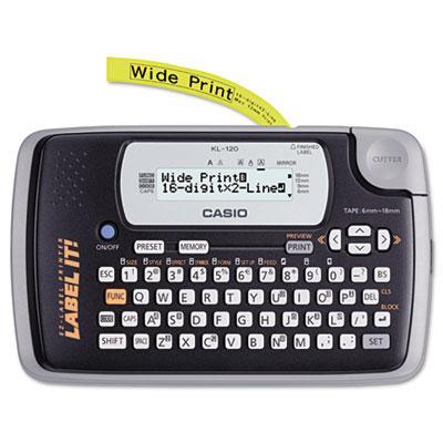 Casio Kl-120 Handheld Label Maker