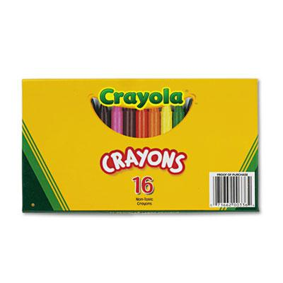Crayola Large Crayons  16-Colors 520336