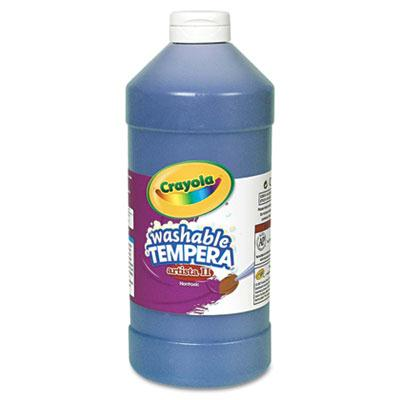 Crayola Artista II 32 oz Washable Tempera Paint  Blue 543132042
