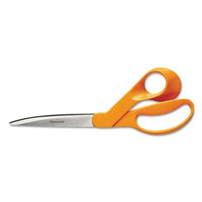 """Fiskars Home and Office Scissors  9"""" Length  Orange 94417297J"""