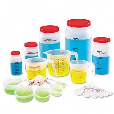 Learning Resources Classroom Liquid Measurement Set LER0360