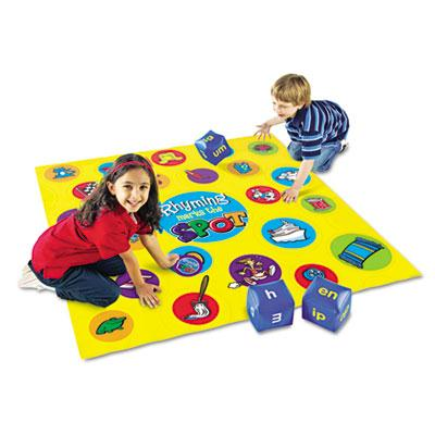 Learning Resources Rhyming Marks the Spot Floor Game LER0479