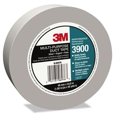 "3m 1.88"" X 60 Yds Poly-coated Cloth Duct Tape 3"" Core Silver"