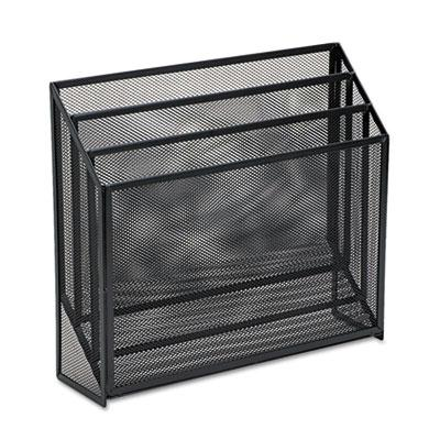 Mesh Three-Tier Organizer, 12 3/4 x 3 1/2 x 11 1/2, Black 22347ELD