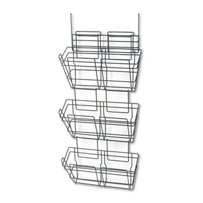 Safco PanelMate Triple File Basket (Set of 6) 4151CH