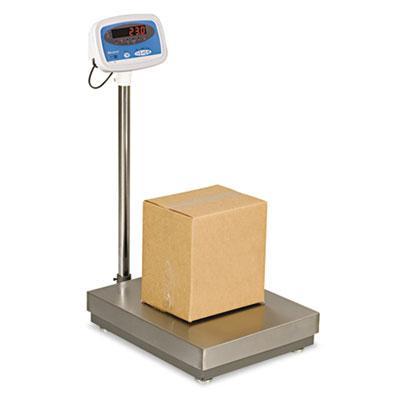 "Brecknell S100300 300 Lb. Digital Floor Scale 22"" W X 18"" D Platform"