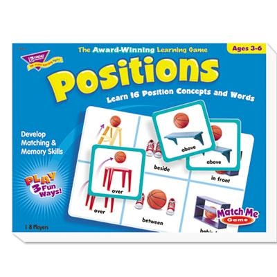 Trend Match Me Positions Puzzle Game T58104