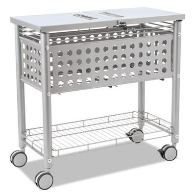 Vertiflex Smartworx 1-Shelf File Cart VF52001