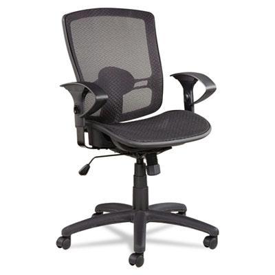 Alera Etros Et4218 Synchro-tilt Mesh Mid-back Task Chair