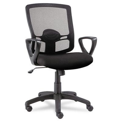 Alera Etros Et42me10b Swivel-tilt Mesh Mid-back Office Chair