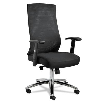 Alera Ey Ey4114 Synchro-tilt Mesh High-back Task Chair