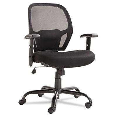 Alera Merix450 Mx4517 Big & Tall 450 Lb. Mesh Mid-back Task Chair