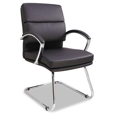 Alera Neratoli Nr4319 Slim Profile Leather Guest Chair