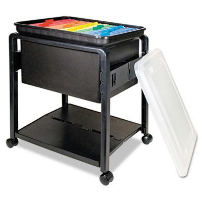 Advantus Folding Mobile File Cart 55758