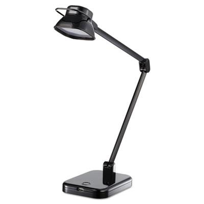 "Black & Decker PureOptics Elate 21"" H LED Desk Light Lamp Black"