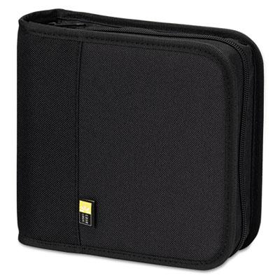 Case Logic 24-capacity Cd & Dvd Expandable Binder Black