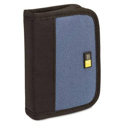 Case Logic 6-capacity Usb Drive Media Shuttle Case Blue