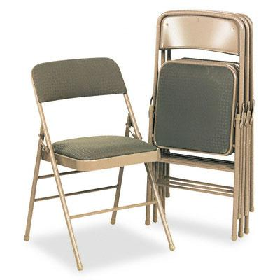 Bridgeport 36885cv Deluxe Fabric Folding Chair 4-pack