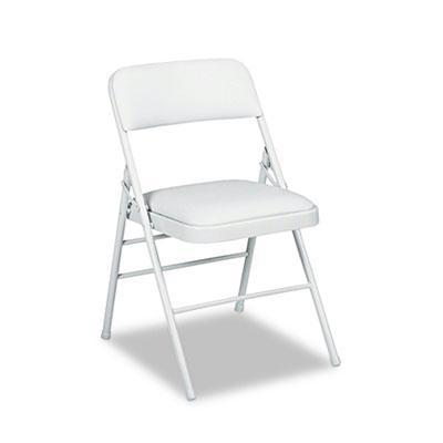 Bridgeport 60883 Deluxe Vinyl Padded Folding Chair 4-pack