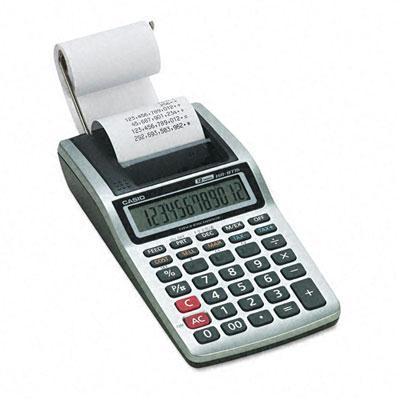 Casio Hr-8tm Portable 12-digit Handheld Printing Calculator