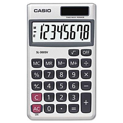 Casio Sl-300sv 8-digit Handheld Calculator