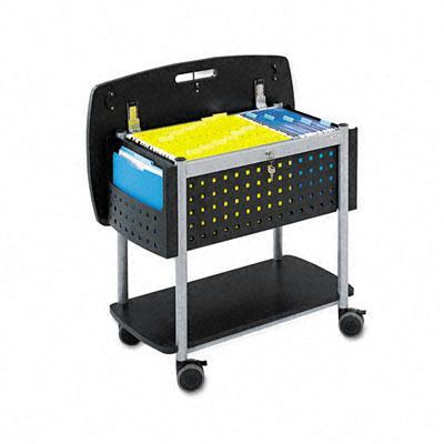 Safco Scoot Mobile File Cart 5370BL